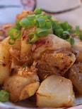 鶏と大根の味噌炒め