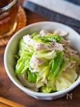 【下味冷凍レシピ】 蒸し鶏とキャベツの中華和え