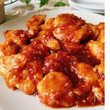 ハチミツが決め手♡鶏ささみのチリソース煮