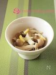 【5分】レンチンきのこのレモンバターソテー