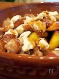 豚肉とサツマイモのプーティン風