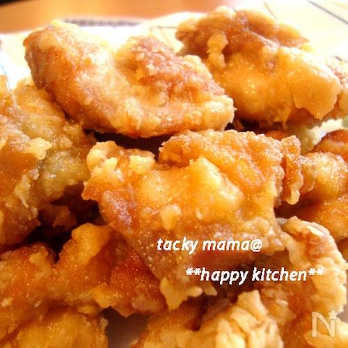 冷めてもふっくら柔らか♪日持ちもする鶏の唐揚げの作り方