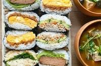 アイデア満載!【おにぎり】具材アレンジ30選|お弁当にも朝ご飯にも!
