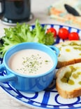 10分で朝スープ!秋鮭のポタージュ