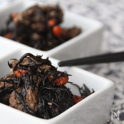 ひじきの梅香煮