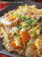 簡単!トロッと白菜が美味♡たっぷり野菜の麻婆白菜