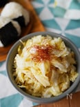 【5分】調味料1つ・サラダ感覚♪「キャベツと生姜の即席漬け」