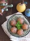 お腹スッキリ♪紅玉りんごの寒天デザート