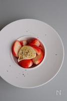 【簡単でおしゃれ】いちごとブッラータチーズのはちみつマリネ