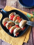 『オーブンで簡単』玉ねぎの豚巻きグリル