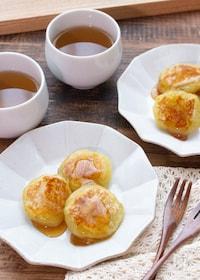 『【簡単おやつ】焼き芋で作る!みたらし芋餅』