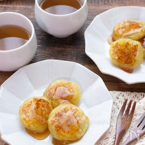 【簡単おやつ】焼き芋で作る!みたらし芋餅