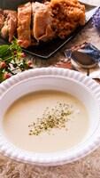 美肌に♡冷やして美味しいコク旨っ♪枝豆の冷製クリームスープ