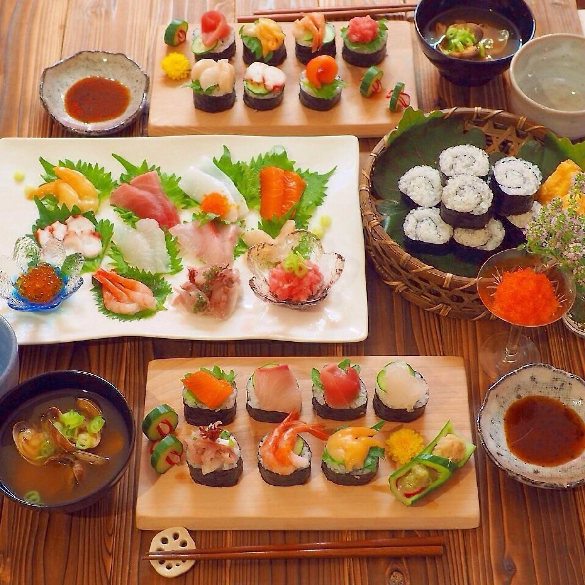 材 具 巻き 手 寿司