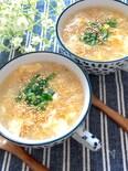 超簡単・5分あれば余裕でできる♡ふわふわ卵のとろみ中華スープ