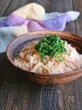 長芋とハムのオイマヨサラダ