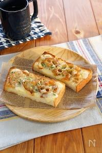 きんぴられんこんのチーズトースト