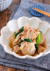『材料入れて煮るだけ10分♪『豚バラと里芋のこってり甘辛煮』』