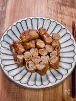 食感も美味しい「ごぼうの豚肉巻き焼き」