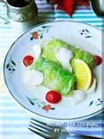 ロールキャベツのココナッツミルクレモン煮