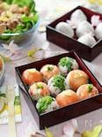 春の手まり寿司(お花見弁当)