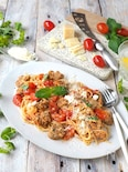 サルシッチャとフレッシュトマトのパスタ