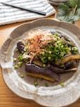 シンプルが美味しい♡なすの生姜醤油焼きねぎおかかまみれ
