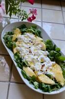 イタリア発!3分でおもてなし料理*桃を使ったサラダ*