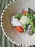 【夏の養生ごはん】かつおと夏野菜のビネガー煮