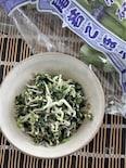 若ごぼうの葉としらすの炒め物