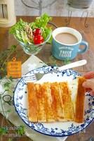 これは画期的!食パン1枚で作れる『ちぎれるパニーニ』