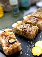 おうちでお店のお味~ズッキーニのキッシュ「トルタ・サラータ」