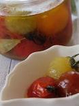カラフルミニトマトのマリネ