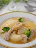 柔らかくて旨味たっぷり☆豚肉と大根のトマト塩麹煮込み♬