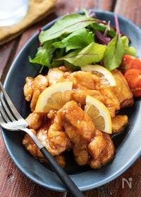『鶏のレモン煮【#作り置き#お弁当#下味不要#ポリ袋】』