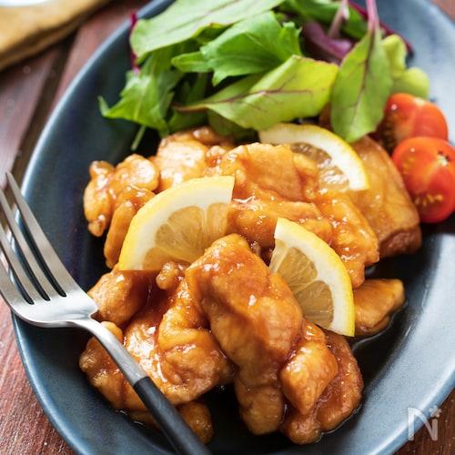 鶏のレモン煮【#作り置き#お弁当#下味不要#ポリ袋】
