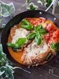 鶏もも肉で簡単イタリアン!チキンのピッツァイオーロ風トマト煮
