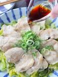 レンジで簡単!鶏むね肉と春キャベツのさっぱりポン酢