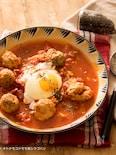 ごろごろミートボールのトマトスープ