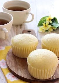 『フライパンで簡単!はちみつレモン蒸しパン』