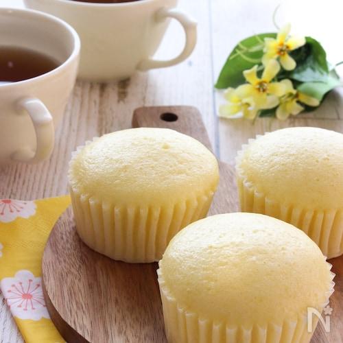 フライパンで簡単!はちみつレモン蒸しパン