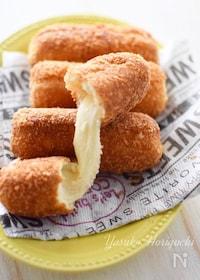 『簡単おやつ韓国風チーズドッグ「ハッドグ」』