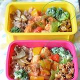 【ブロッコリーのクリーミーサラダ】お弁当に!美味しい彩り野菜