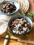 『ひじきの煮物で♡』ひじきと大豆の混ぜご飯