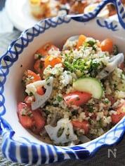 デリ風野菜具だくさん玄米サラダ&玄米の美味しい炊き方