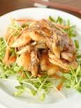 鶏むね肉の梅ソース炒め