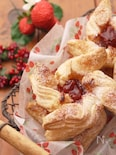 ジャムとチーズのクリスマスパイ*冷凍パイシート使用