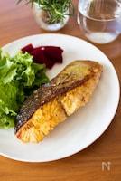 『生秋鮭のチーズカレーソテー』#簡単#お弁当