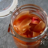 新生姜の甘酢漬け。