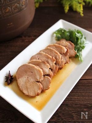 低温調理で高級中華の本格煮豚